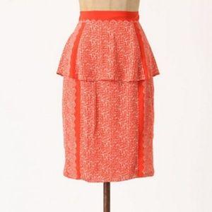 🌹Anthropologie Peplum Skirt